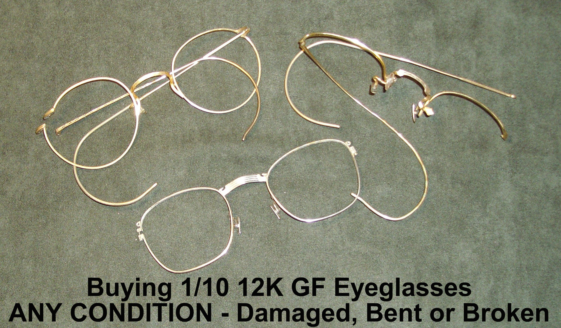 Buying Gold Filled Eyeglasses | Sell Your Gold Filled Eyeglasses ...